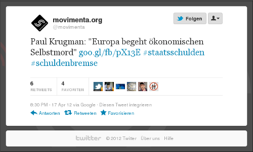 screenshot: tweet